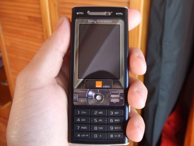 telefon sony ericsson k800i